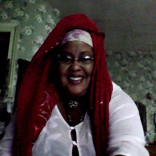 All dressed up for a Pre-Ramadan celebration and chant