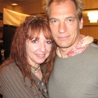 The wonderfully sweet Julian Sands and I @ HH 2010.