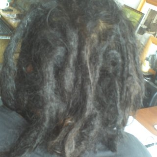 Ten mths au naturalle, wash and neglect!!!!!!!!!