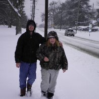 walking to the store