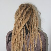 My dreadies are getting so long! :)
