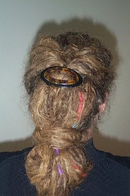 New ways to put my dread up, style them ...