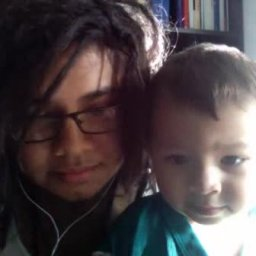 me and my little brother :3