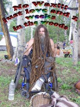 My dreadlocks 25 years growing natural dreads