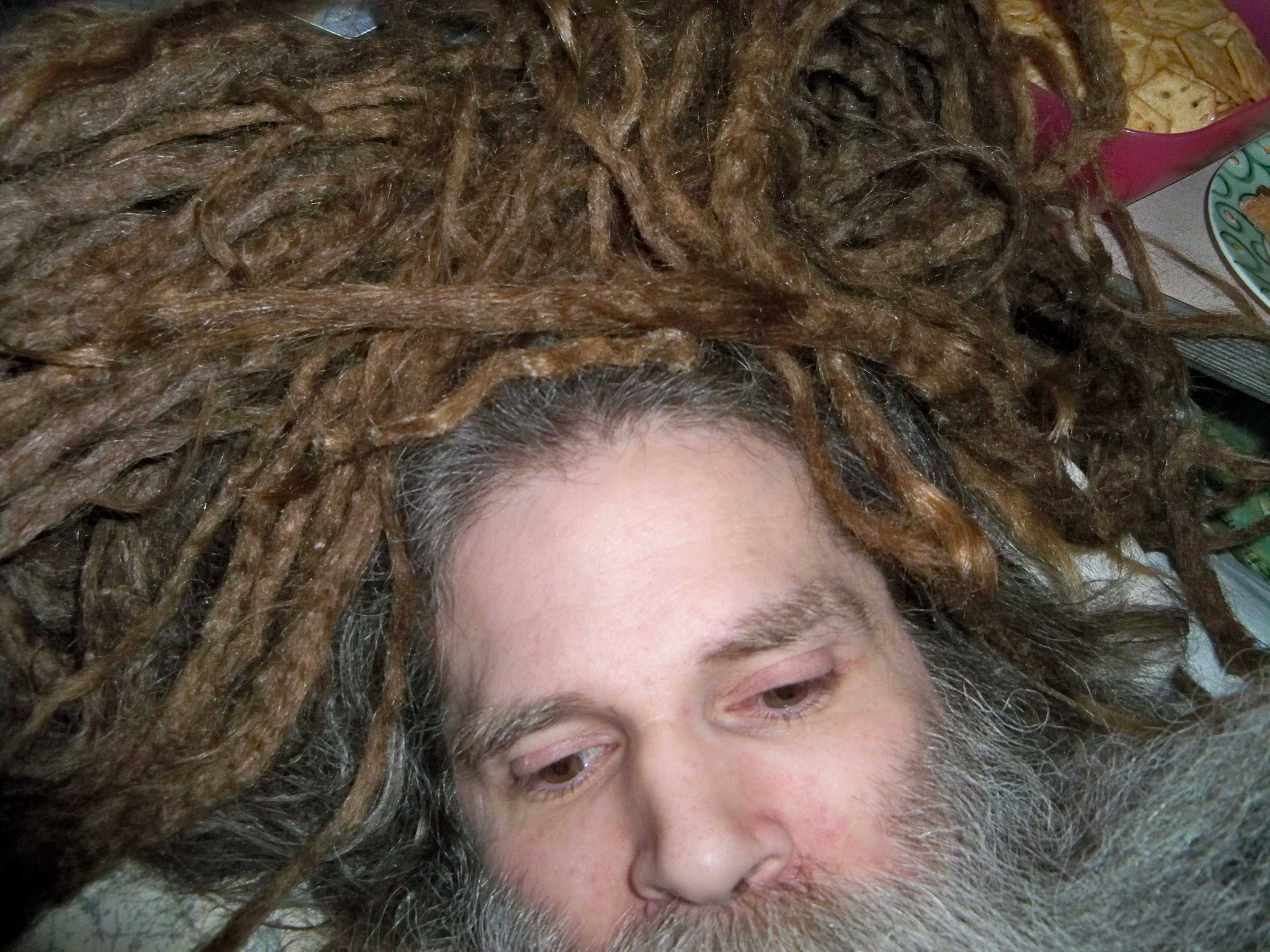 10 Month (304 Day) Old Neglect Natural Dreadlocks Progress Update ...