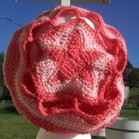 Original Design Pink Star Hat