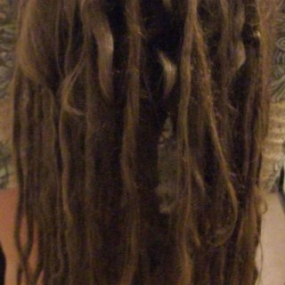 dreads upside down