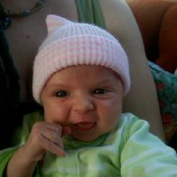Little Harmony, first day she smiled!!!
