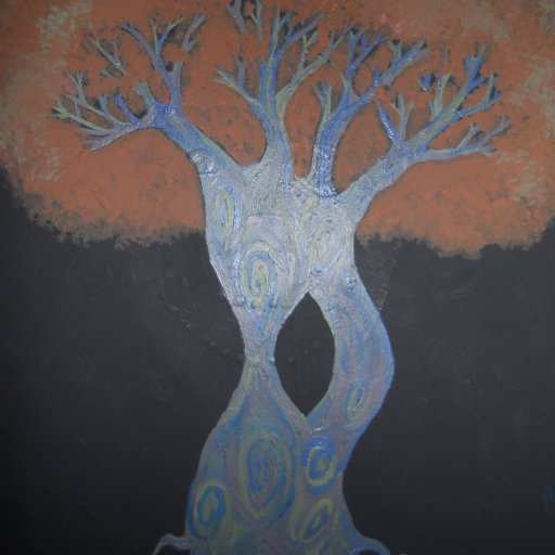 a tree i painted