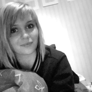 My hair before I stopped brushing :-)