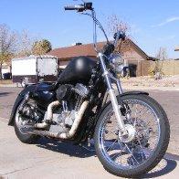 2006 Harley Davidson 883, My First Sportster.