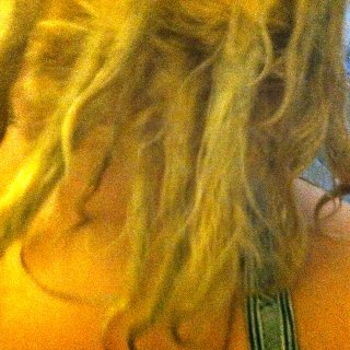 2 day old twist and rip (well, braid and rip for a lot of them... I didn't know what I was doing lol) Fresh out of a baking soda with tea tree oil shower.
