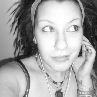 my first set of dreads summer 2010 (friends did them.. they undid emselves over night :( )