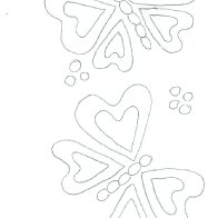 butterfly template 2