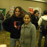 Niveditha and I at the International banquet.