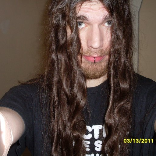the day i started before back combing any of it