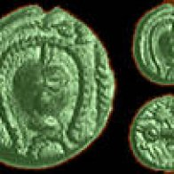 Celtic 'severed head' coin