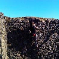 me bouldering