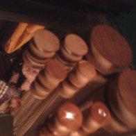 wooden gauges! home made
