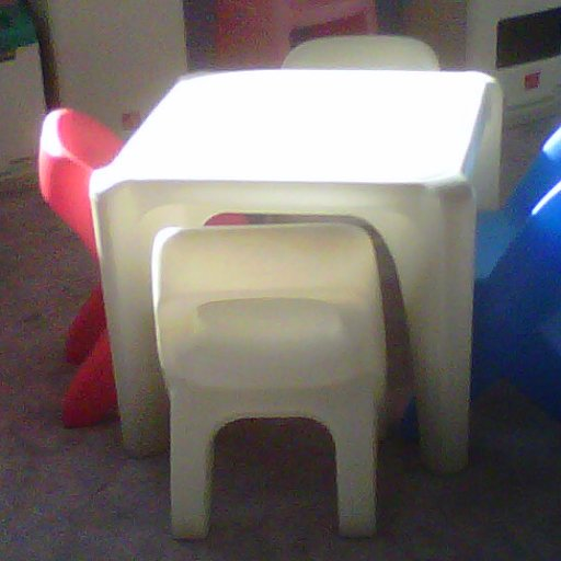 the kiddy table