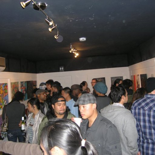 Another night at Thumbprint Gallery- Group Show Blowout!
