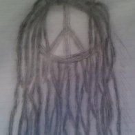 neglect dreadlocks drawing