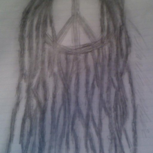 neglect dreadlocks drawing