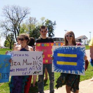 gay pride anti phelps parade 2011