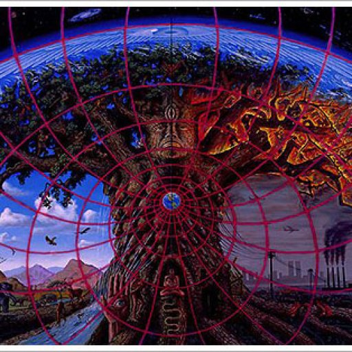'Gaia' Artist Alex Grey 1989
