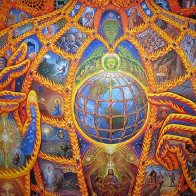 Cosmic Christ (Alex Grey)