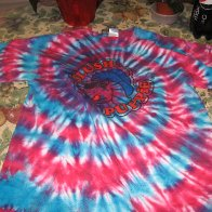 Slushie Red and Blue Spiral