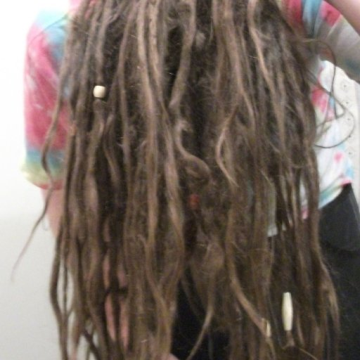 Ahhh the underneath...5 month TnR dreadlocks