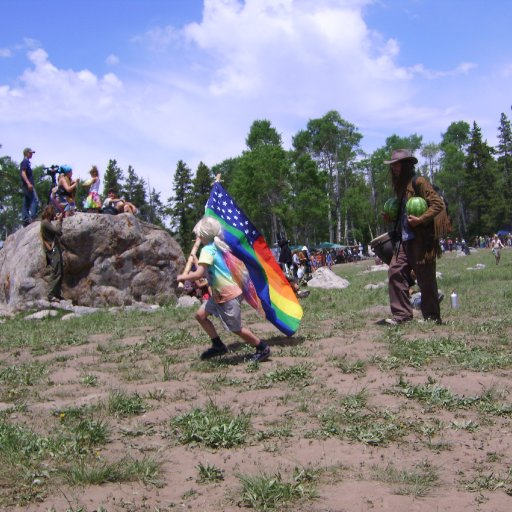 wyoming  rainbow gathering
