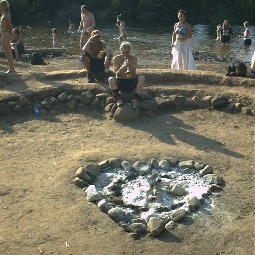 michigan rainbow gathering heart pit