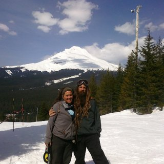 The Queen and i Mt. Hood