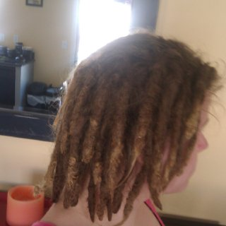 finally starting to get some length from after all the shrinkage.