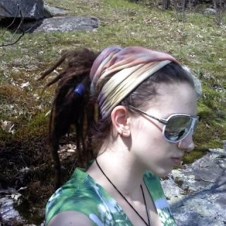 beautiful day for a hike with my dreadies :)
