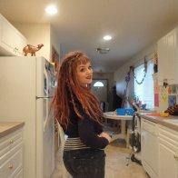 posin' in the kitchen! hahaha