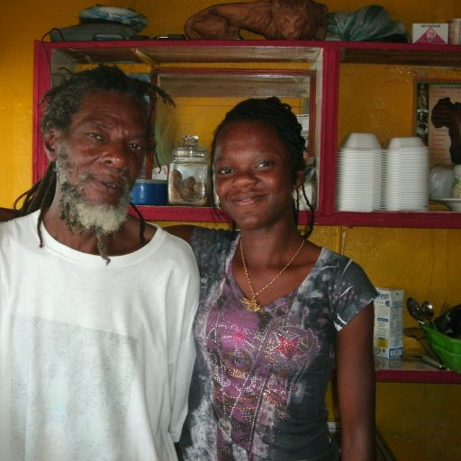 MUY OLDEST AFRICAN BROTHER AND HIS DAUGHTER