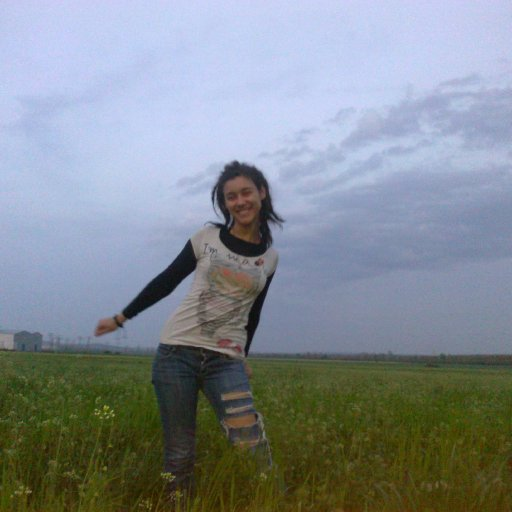 In the field =D