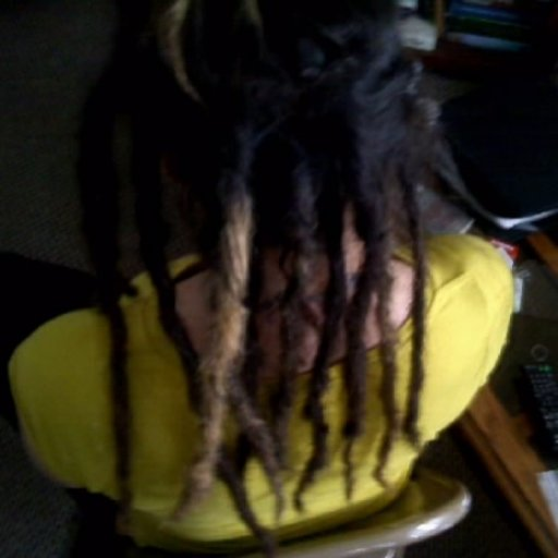 Starting the journey with backcombing... 8 hours of work