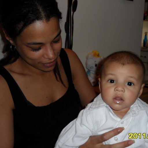 mommy & boodahboy at 4 months