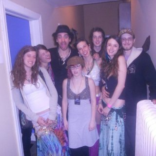 such a magical night!! my friend lynnsey, karma jane, and olive are hula hoopers for shpongle's spring tour and got us backstage! also this show occured on one of my very close friends birthday who passed away last year, i know she was there with us ragin <3