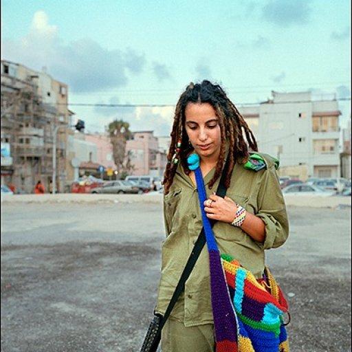 Female soldier in Israel