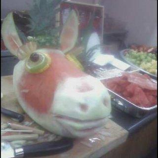 Watermelon Donkey!