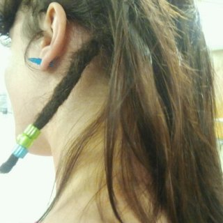 starting with one dread in my head haha