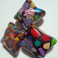 Pillow Dread Beads- Polymer Clay
