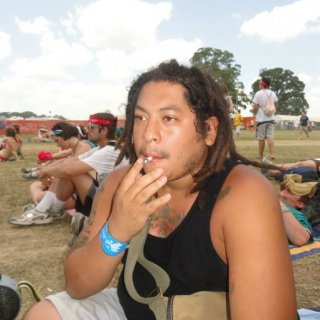 smokin one at Bonnaroo