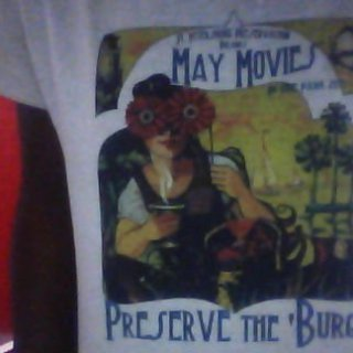 i also bought this from the saturday morning market the last day, and the whole May Movie thing was every Thursday, and they were showing old movies with Marylin Monroe, Audrey Hepburn etc.