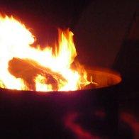 Strange Red Ring Around The Fire